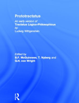 Prototractatus (e-Book) book cover
