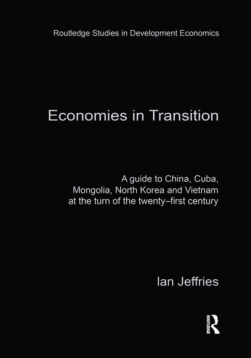 Economies in Transition: 1st Edition (Hardback) book cover