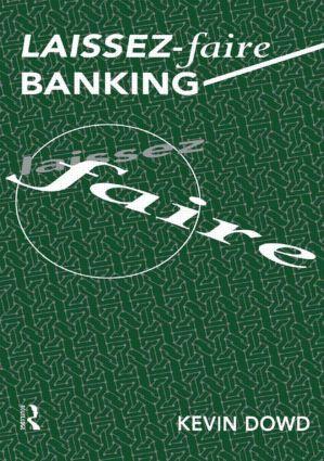 Laissez Faire Banking (Paperback) book cover