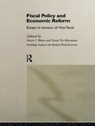 Fiscal Policy and Economic Reforms