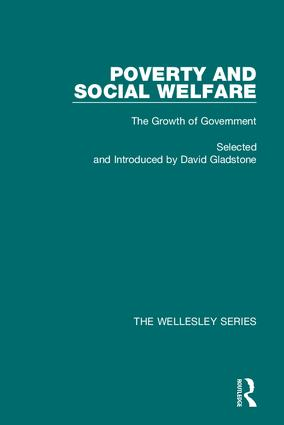 Poverty and Social Welfare: Key 19th Century Journal Sources in Social Wefare (Hardback) book cover