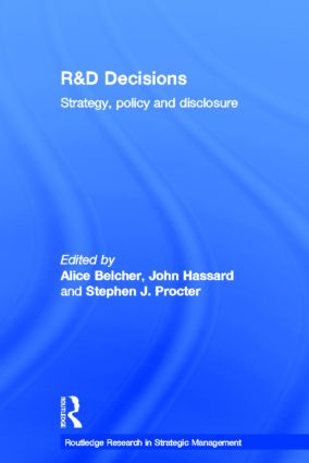 R&D Decisions: Strategy Policy and Innovations, 1st Edition (Hardback) book cover