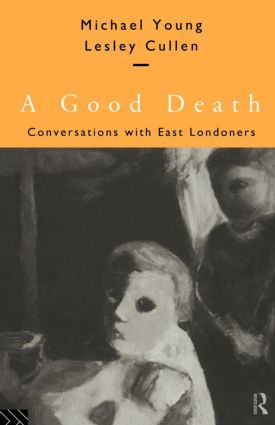 A Good Death: Conversations with East Londoners (Paperback) book cover