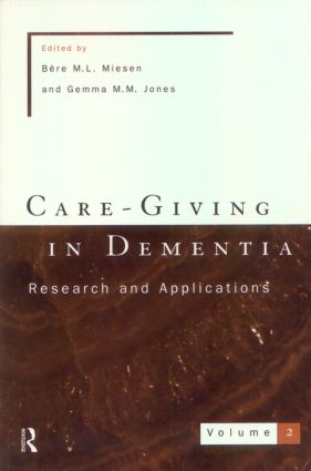 Care-Giving In Dementia 2