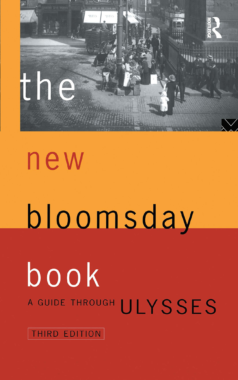 The New Bloomsday Book: A Guide Through Ulysses book cover