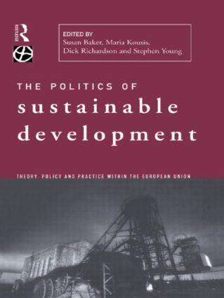 Politics of Sustainable Development (Hardback) book cover