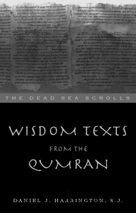 Wisdom Texts from Qumran (Paperback) book cover