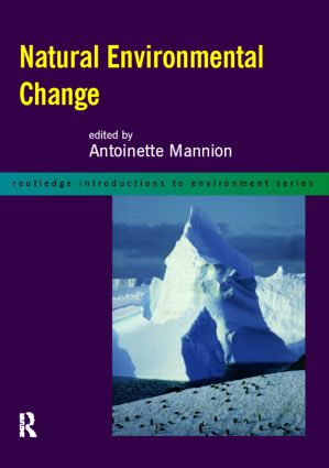 Natural Environmental Change (Paperback) book cover