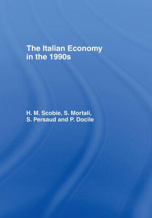 The Italian Economy in the 1990s