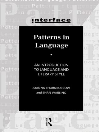 Patterns in Language: Stylistics for Students of Language and Literature (Paperback) book cover