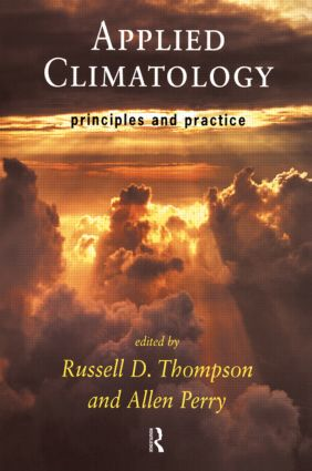 Applied Climatology: Principles and Practice, 1st Edition (Paperback) book cover