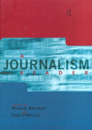 A Journalism Reader book cover