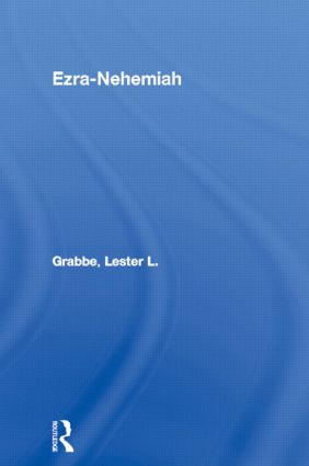 Ezra-Nehemiah: 1st Edition (Paperback) book cover