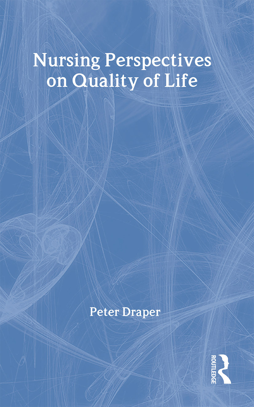 Nursing Perspectives on Quality of Life (Paperback) book cover
