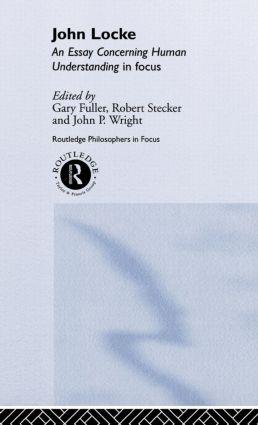 John Locke: En Essay Concerning Human Understanding in Focus book cover