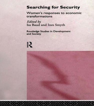 Searching for Security: Women's Responses to Economic Transformations (Hardback) book cover