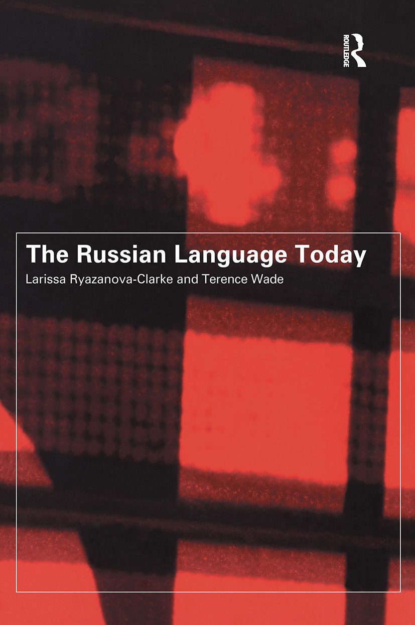 The Russian Language Today book cover