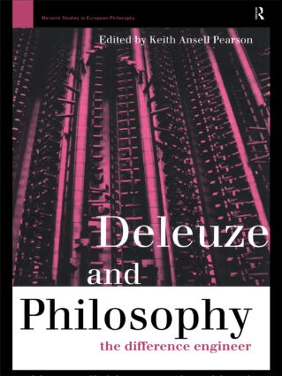 Deleuze and Philosophy: The Difference Engineer, 1st Edition (Hardback) book cover