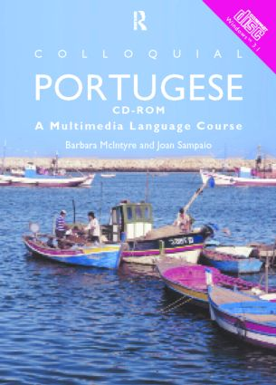 Colloquial Portuguese: The Complete Course for Beginners (CD-ROM) book cover