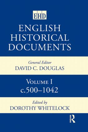 English Historical Documents 500-1041: 1st Edition (Hardback) book cover