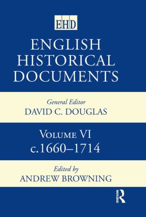 English Historical Documents