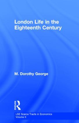 London Life 18th Century Lse: 1st Edition (Hardback) book cover