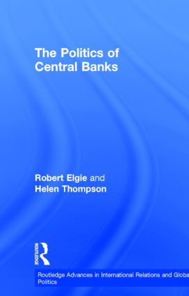 The Politics of Central Banks (Hardback) book cover