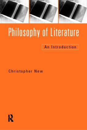 Philosophy of Literature: An Introduction, 1st Edition (Paperback) book cover
