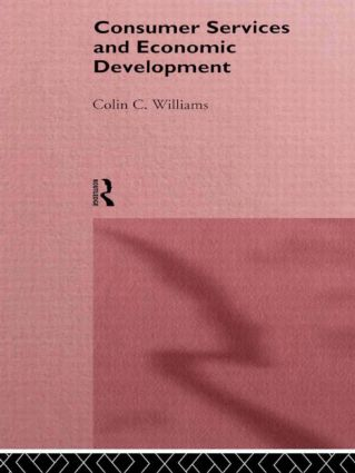 Consumer Services and Economic Development: 1st Edition (Paperback) book cover