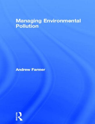 Managing Environmental Pollution (Paperback) book cover