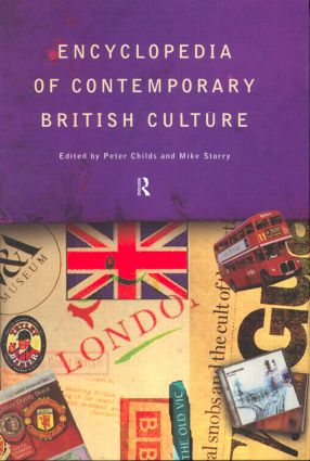 Encyclopedia of Contemporary British Culture (Hardback) book cover