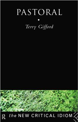 Pastoral: 1st Edition (Paperback) book cover