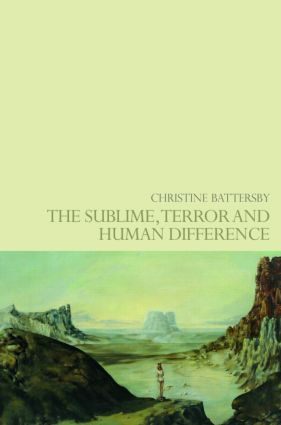 The Sublime, Terror and Human Difference: 1st Edition (Paperback) book cover