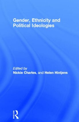 Gender, Ethnicity and Political Ideologies: 1st Edition (Paperback) book cover