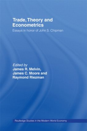 Trade, Theory and Econometrics: 1st Edition (Hardback) book cover