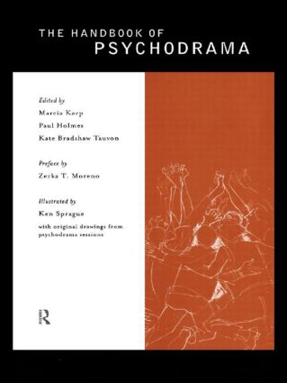 The Handbook of Psychodrama: 1st Edition (Paperback) book cover