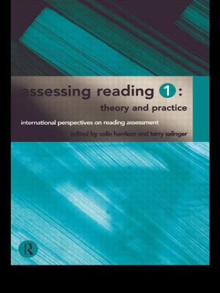 Assessing Reading 1: Theory and Practice (Paperback) book cover