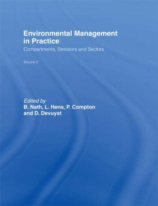 Environmental Management in Practice: Vol 2: Compartments, Stressors and Sectors, 1st Edition (Hardback) book cover