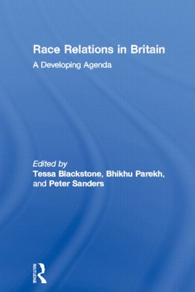 Race Relations in Britain: A Developing Agenda (Paperback) book cover