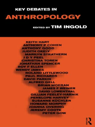 Key Debates in Anthropology (Paperback) book cover