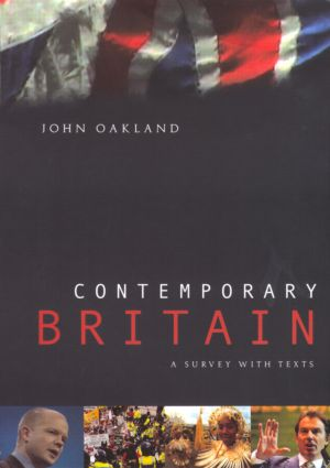 Contemporary Britain: A Survey With Texts, 1st Edition (Paperback) book cover