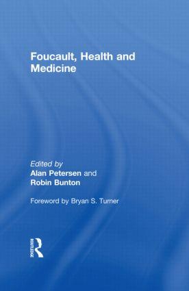 Foucault, Health and Medicine: 1st Edition (e-Book) book cover