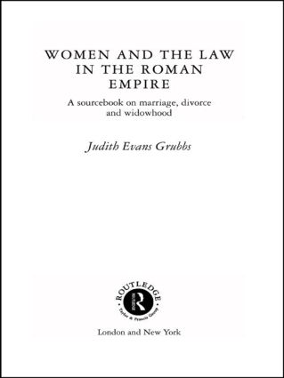 MARRIAGE IN ROMAN LAW AND SOCIETY