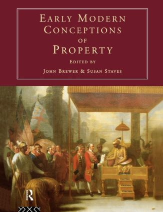 Early Modern Conceptions of Property (Paperback) book cover
