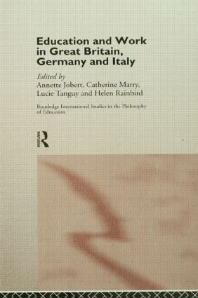 Education and Work in Great Britain, Germany and Italy: 1st Edition (e-Book) book cover