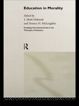 Education in Morality: 1st Edition (Hardback) book cover