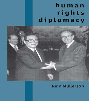 Human Rights Diplomacy (Paperback) book cover