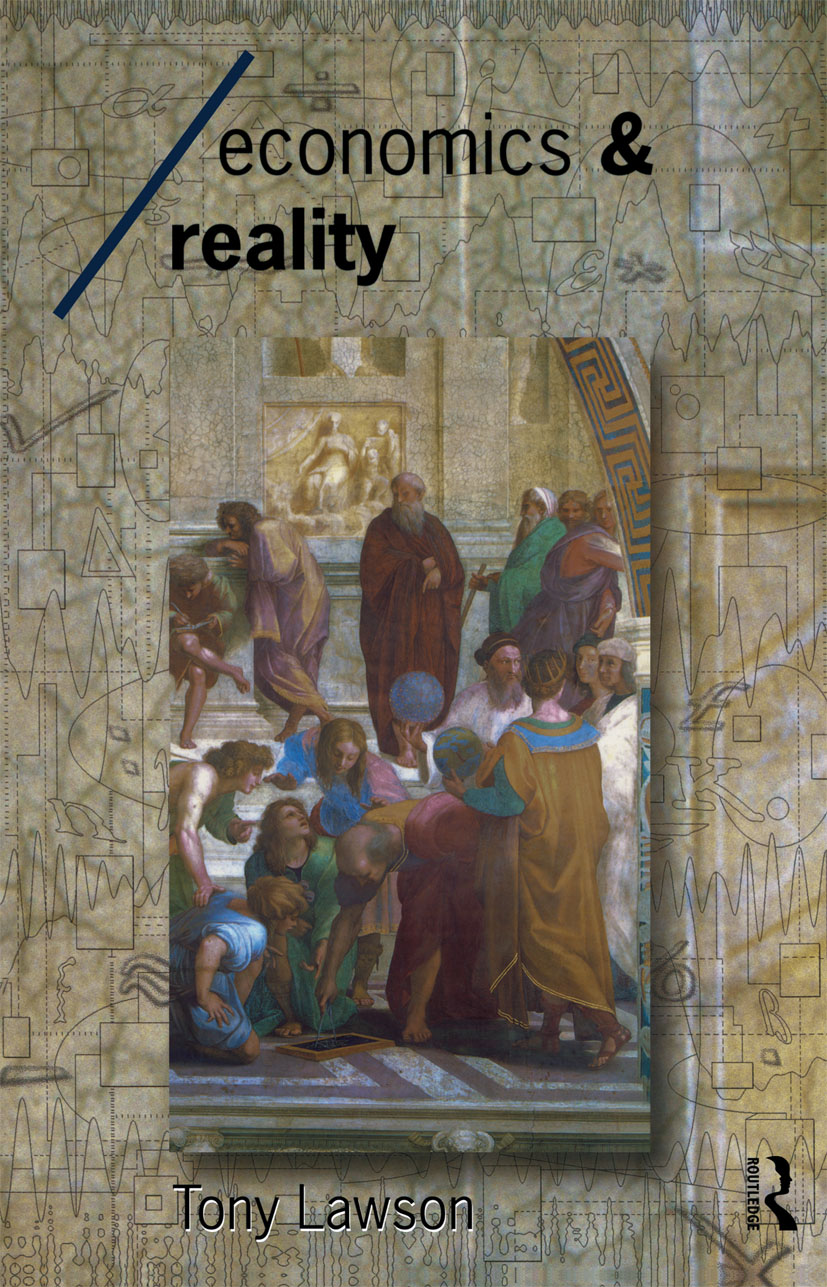 Economics and Reality (Paperback) book cover