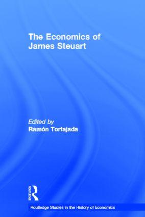 The Economics of James Steuart (Hardback) book cover