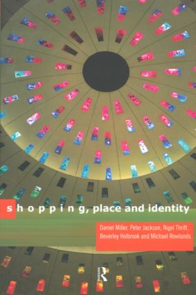 Shopping, Place and Identity (Paperback) book cover